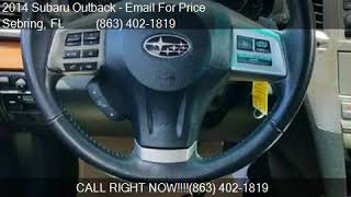 2014 Subaru Outback 2.5i Limited AWD 4dr Wagon for sale in S