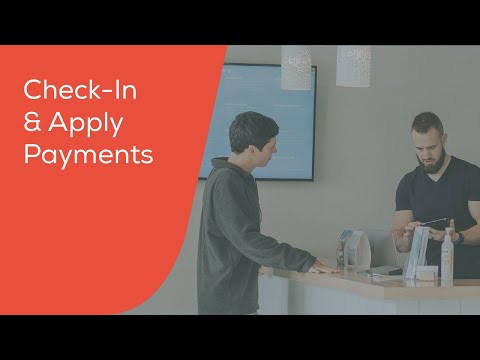 Check-in & Apply Payments