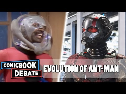Evolution of Ant-Man in Movies & TV in 4 Minutes 2018