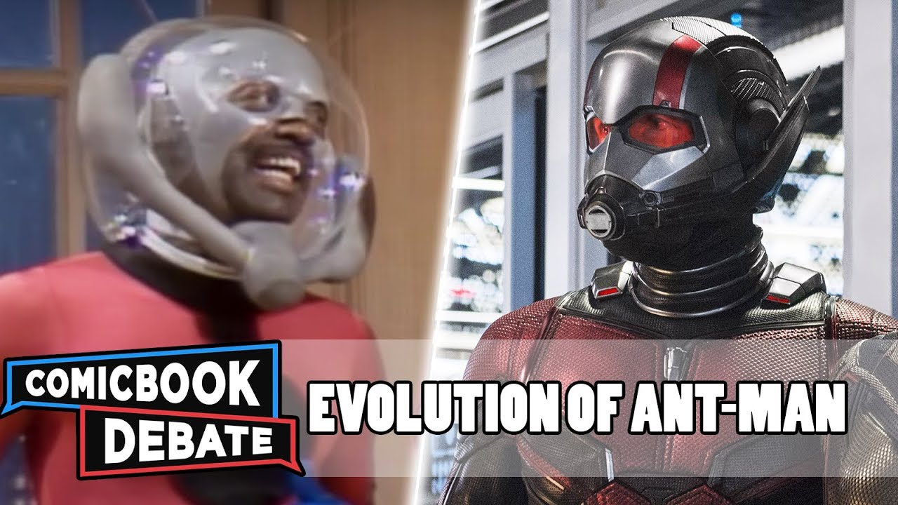 Evolution of Ant-Man in Movies & TV in 4 Minutes (2018)