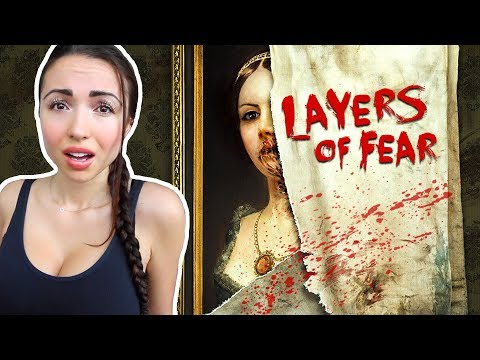 THIS GAME IS SO SCARY!! - Layers of Fear (Part 1)