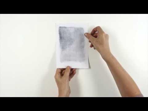 Tutorial : Paul Klee Oil Transfer Drawing Technique