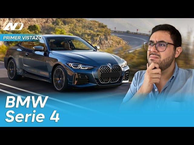 Nuevo BMW Serie 4 2021 ¡Esa parrilla! | Primer vistazo digital