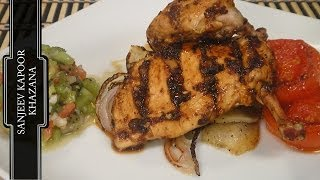 Grilled Chicken With Kiwi Salsa