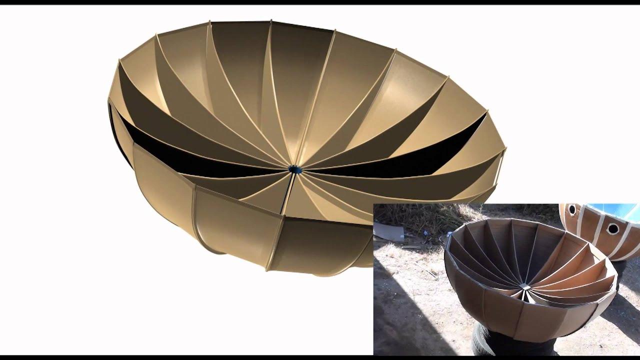 cocina solar parabolica youtube