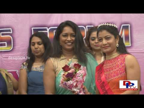 Crowning of Miss/ Mrs NATA at womens forum by Rachana Mourya - NATA Convention