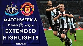 Newcastle United v. Manchester United | PREMIER LEAGUE HIGHLIGHTS | 10/6/19 | NBC Sports