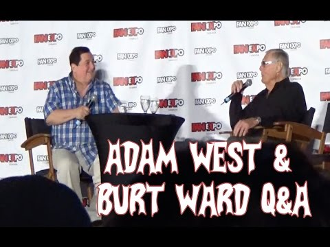 Adam West & Burt Ward Q&A Fan Expo Canada 2016