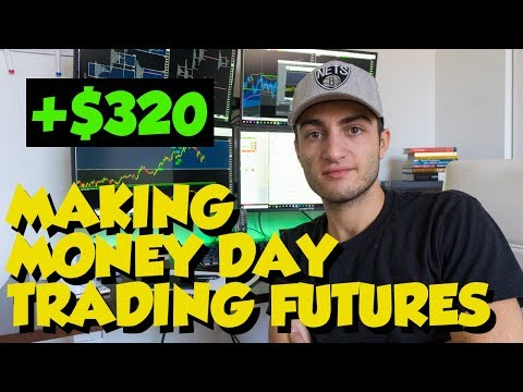 MAKING MONEY DAY TRADING FUTURES +$320 | JAY'S TRADE REVIEW