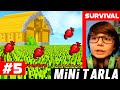 Türkçe Survival MİNİ TARLA - MINECRAFT SURVİVAL - S3 #BÖLÜM 5