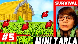 Download lagu Türkçe Survival MİNİ TARLA MINECRAFT SURVİVAL S3 BÖLÜM 5