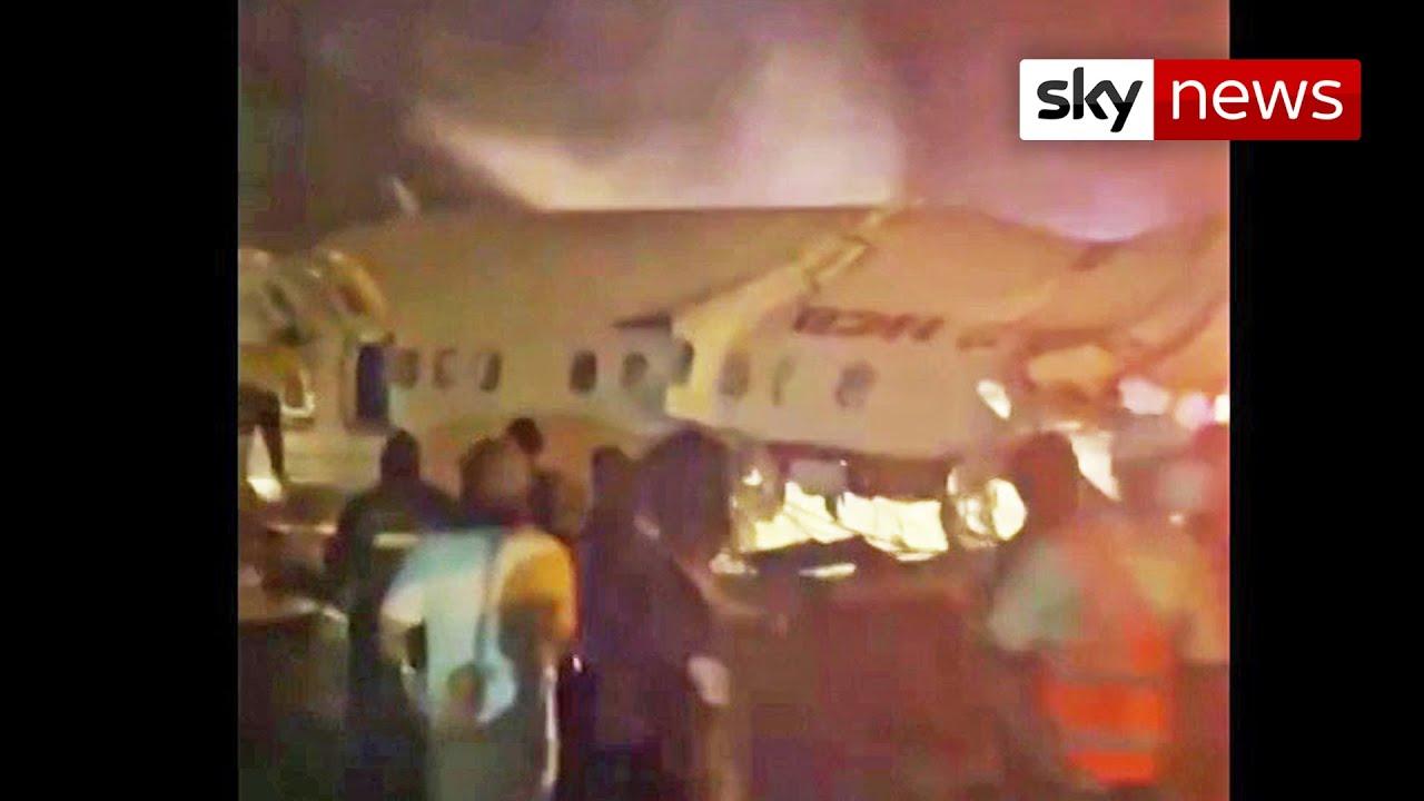 BREAKING: Flight carrying 191 passengers crash lands at airport in Kerala