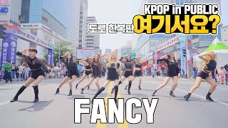 [HERE?] TWICE - FANCY | DANCE COVER | KPOP IN PUBLIC @Colorful Festival