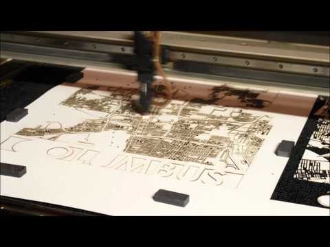 Laser Cutting Columbus Ohio By Cut Maps