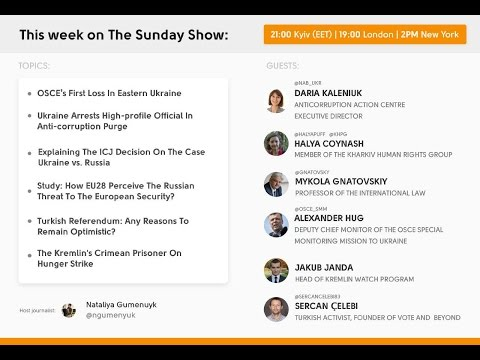The Sunday Show: Ukraine Arrests High-profile Official In Anti-corruption Purge