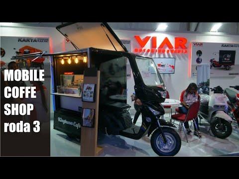 VIAR Moush Bit 150 The Mobile Coffee Shop   GIIAS Surabaya