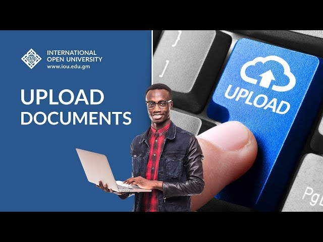 Upload Documents - How-To Tutorials