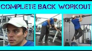 Complete Back Workout Routine