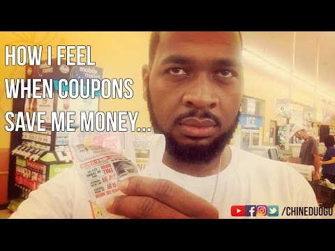 How I Feel When Coupons Save Me Money...