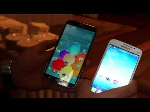 Samsung Galaxy Mega 5.8 and 6.3 at Launch in India, Hands On, Specs and Price - iGyaan