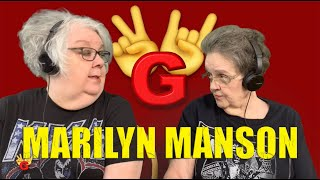 2RG - Two Rocking Grannies Reaction: MARILYN MANSON - WE ARE CHAOS
