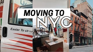 MOVING TO NYC! Moving Vlog + Home Decor and Organization
