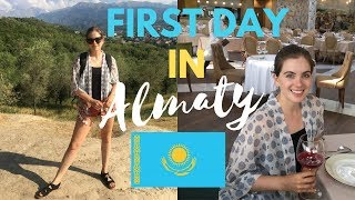 I DID NOT EXPECT THIS! Arriving In Almaty, Kazakhstan | City Vlog Tour