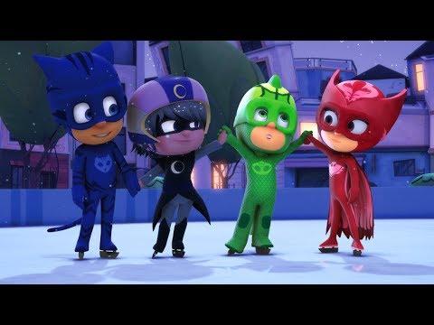 أبطال بلباس النوم   الزاحف ينقذ عيد الميلاد , خطة الزاحف للتخلص من الجليد    كرتون اطفال thumbnail