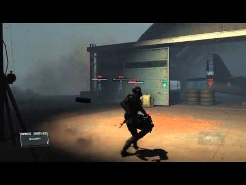 Metal Gear Solid 5 The Phantom Pain Parasite Suit Gameplay