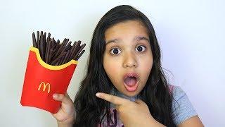 شفا و وجبة ماكدونالدز السحرية !! Magic McDonald's Happy Meal