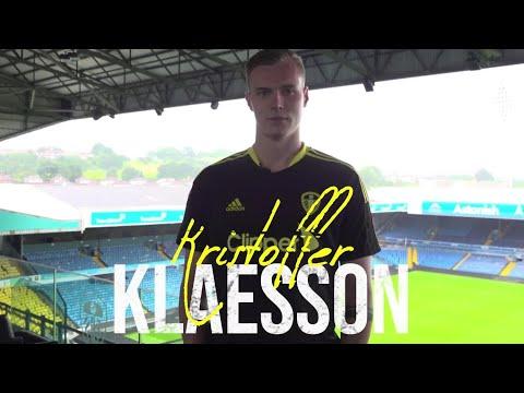 Goalkeeper Kristoffer Klaesson completes transfer to Leeds United!