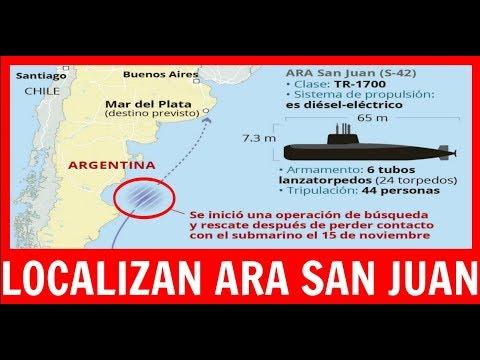 #Noticias #Argentina Localizan el Ara San Juan #ARASanJuan #OGPArgentina