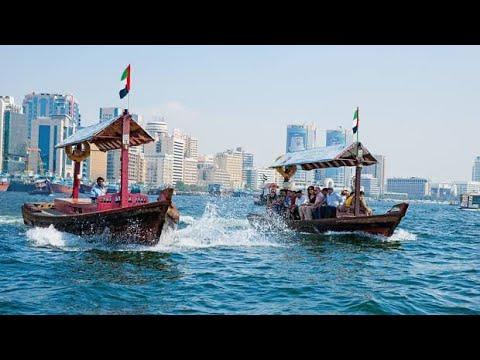 Dubai Creek Boat ride