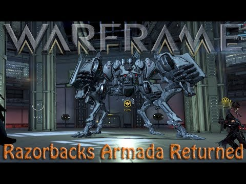 Warframe - Razorbacks Armada Returned
