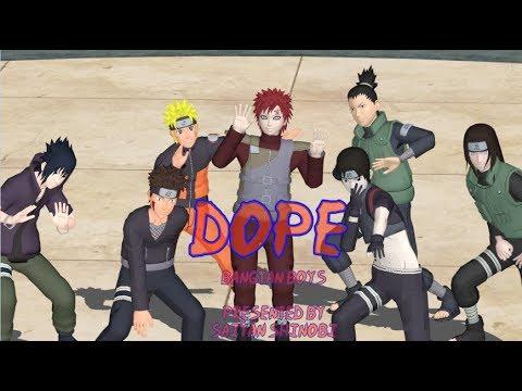 【 MMD Naruto】 DOPE 【BTS - 방탄소년단 】