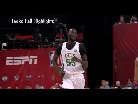 7'6 Tacko Fall Highlights | Boston Celtics vs Cavaliers