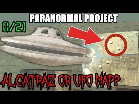 GTA San Andreas Myths . Alcatraz or UFO Map? [1/2] - PARANORMAL PROJECT 61