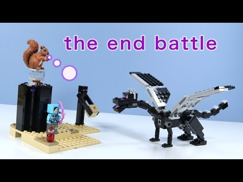LEGO Minecraft The End Battle Ender Dragon Build Review 2019