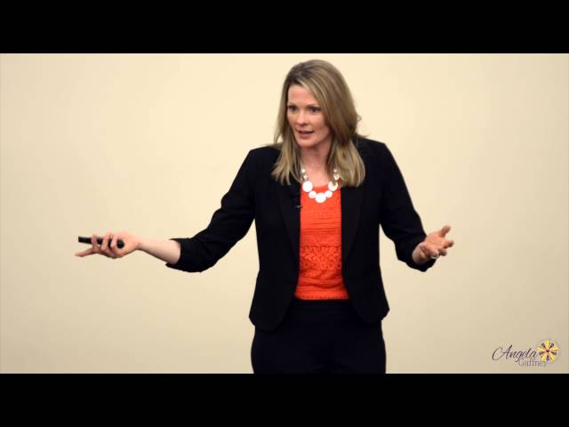 Angela Gaffney Wellness Keynote Speaker | Achieving Balance