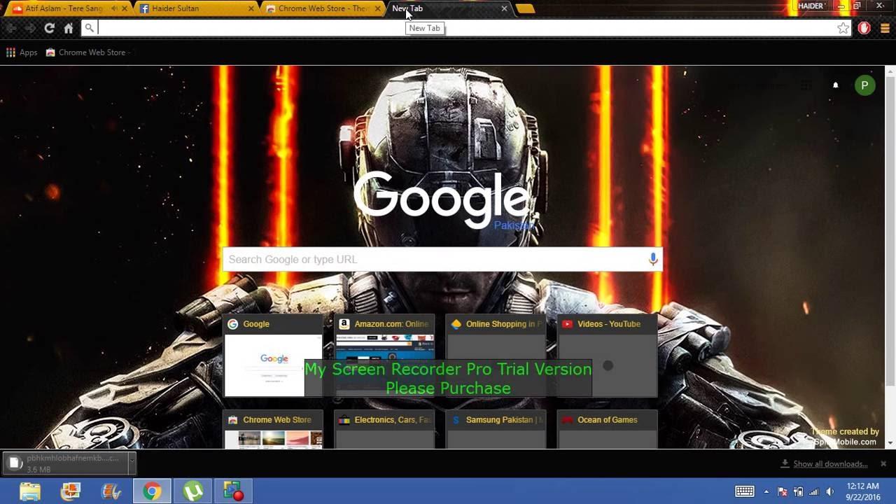 Google chrome themes video games - How To Change Theme Of Google Chrome Predator S Game