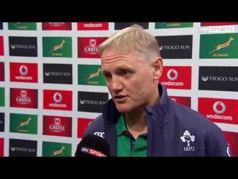Ireland vs South Africa 26-32 2016 - Joe Schmidt Post Match Interview