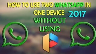 Whatsapp Trick | How to use 2 whatsapp in one phone | without Root & parallelspace