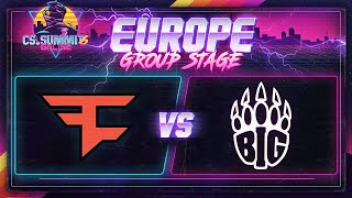FaZe vs BIG (Nuke) - cs_summit 6 Online: EU Group Stage - Game 2