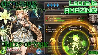 TALES OF ERIN Leona is AMAZING! - Tales of Erin Gameplay Review #151 Guide Tips F2P (Android/iOS)