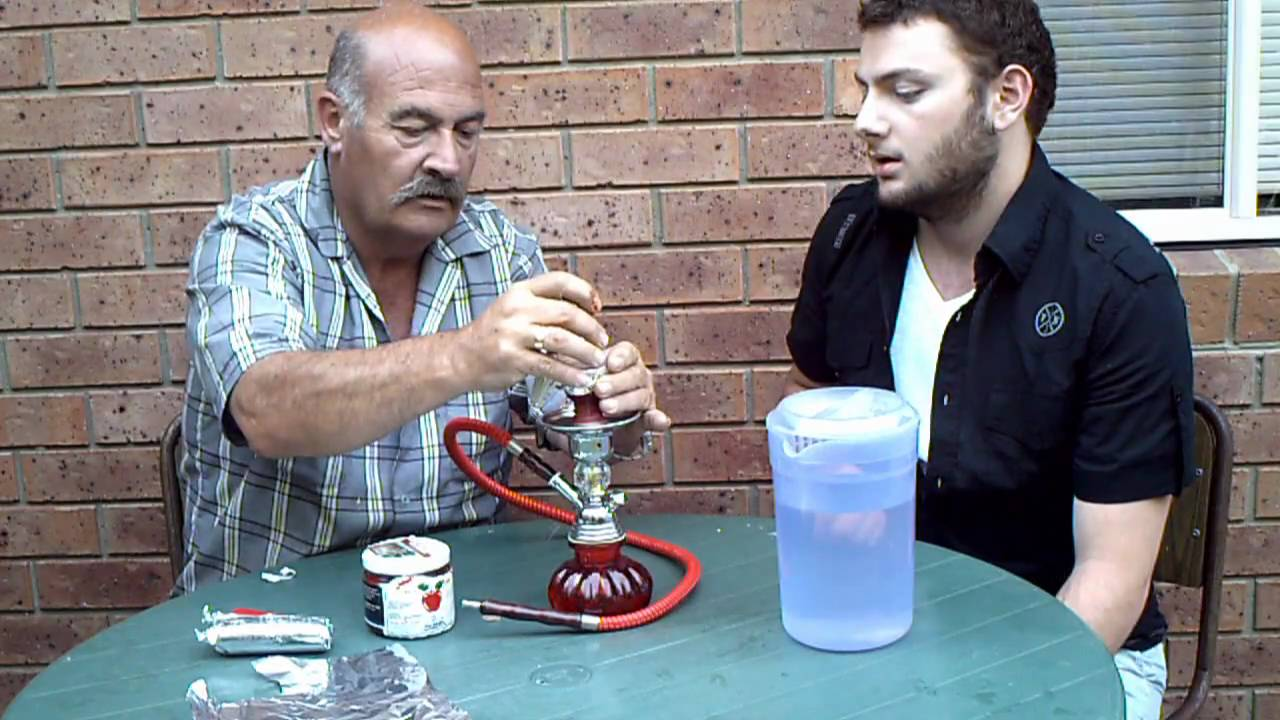 How to setup a Water Pipe(Argileh/Hookah/Sheesha) - YouTube