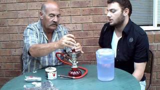 How to setup a Water Pipe(Argileh/Hookah/Sheesha)