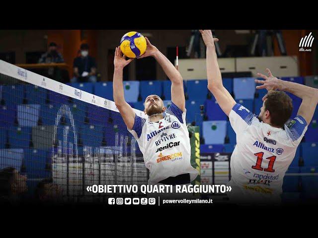 Superlega, intervista post Milano - Verona di Riccardo Sbertoli