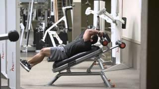 Тренировка пресса на многофункциональной скамье VICORE(Профессиональный бодибилдер Stan McQuay выполняет тренировку пресса на многофункциональный скамье VICORE., 2014-02-13T06:31:16.000Z)