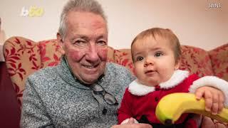 Baby Elves Bring Holiday Cheer to Seniors