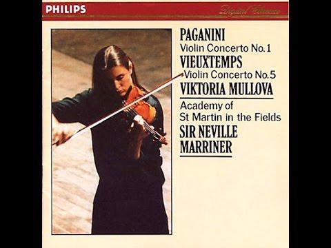 Viktoria Mullova - Paganini 1 / Vieuxtemps 5